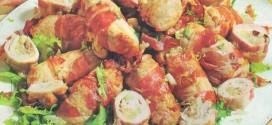 Involtini ripieni di patate e salsiccia