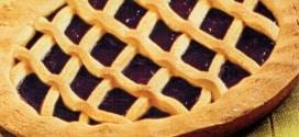 Crostata golosa alla marmellata di mirtilli