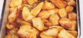 Patate dorate al forno con erbe aromatiche