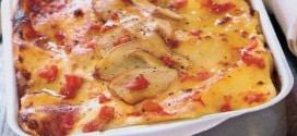 Lasagne con Philadelphia e funghi porcini